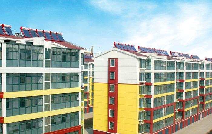 多层住宅紧凑式太阳能案例