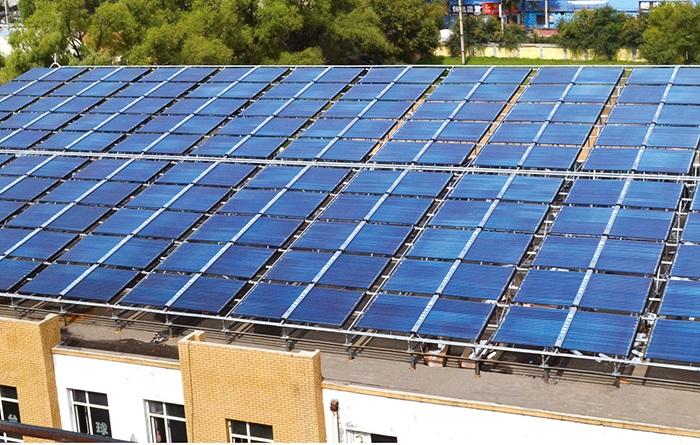 集中集热集中供热太阳能案例