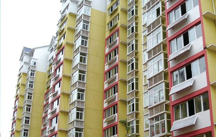 高层住宅阳台热水器案例