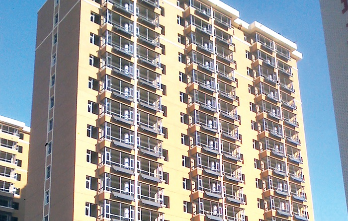 高层住宅家用热水器案例