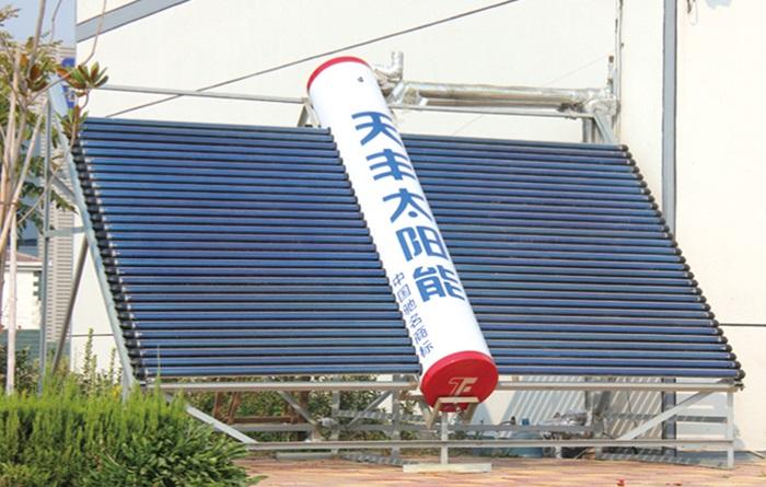 太阳能地板辐射采暖案例