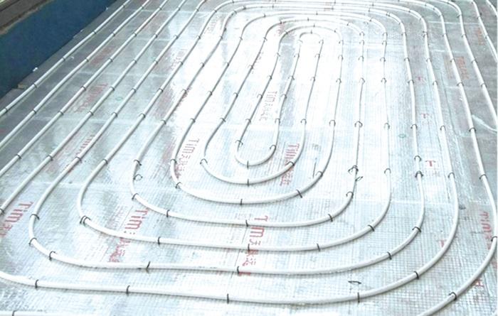 地板辐射太阳能采暖案例