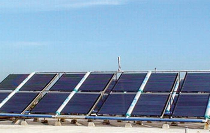 太阳能开水案例